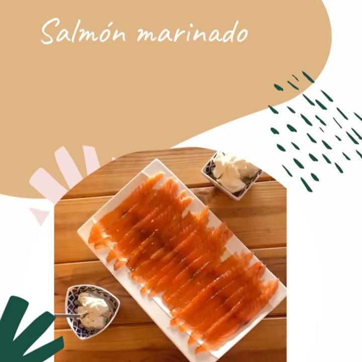 SALMÓN MARINADO - cookandtravelspain