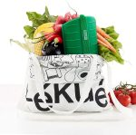 Lékué Estuche de Vapor Green Shopper Kit, Silicona